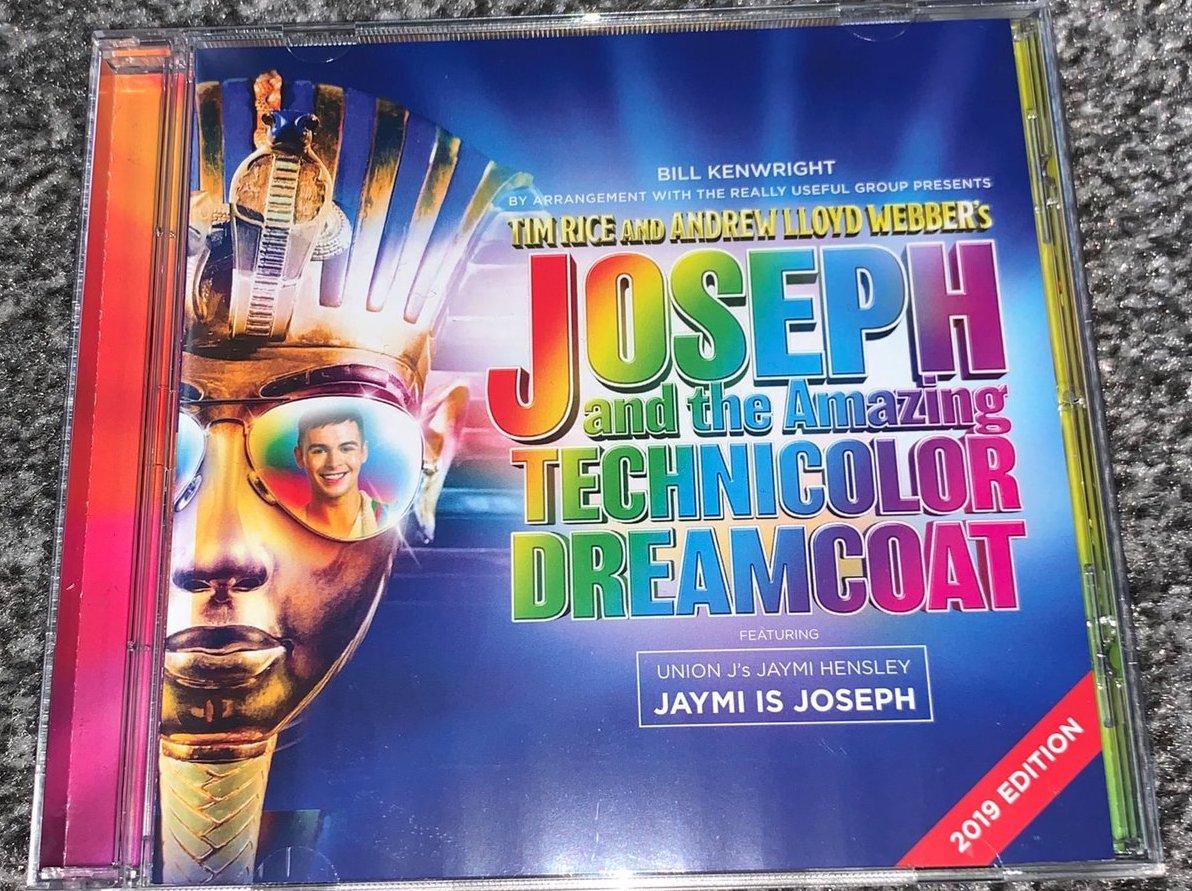 Joseph... Dreamcoat 2019 CD with Jaymi Hensley.