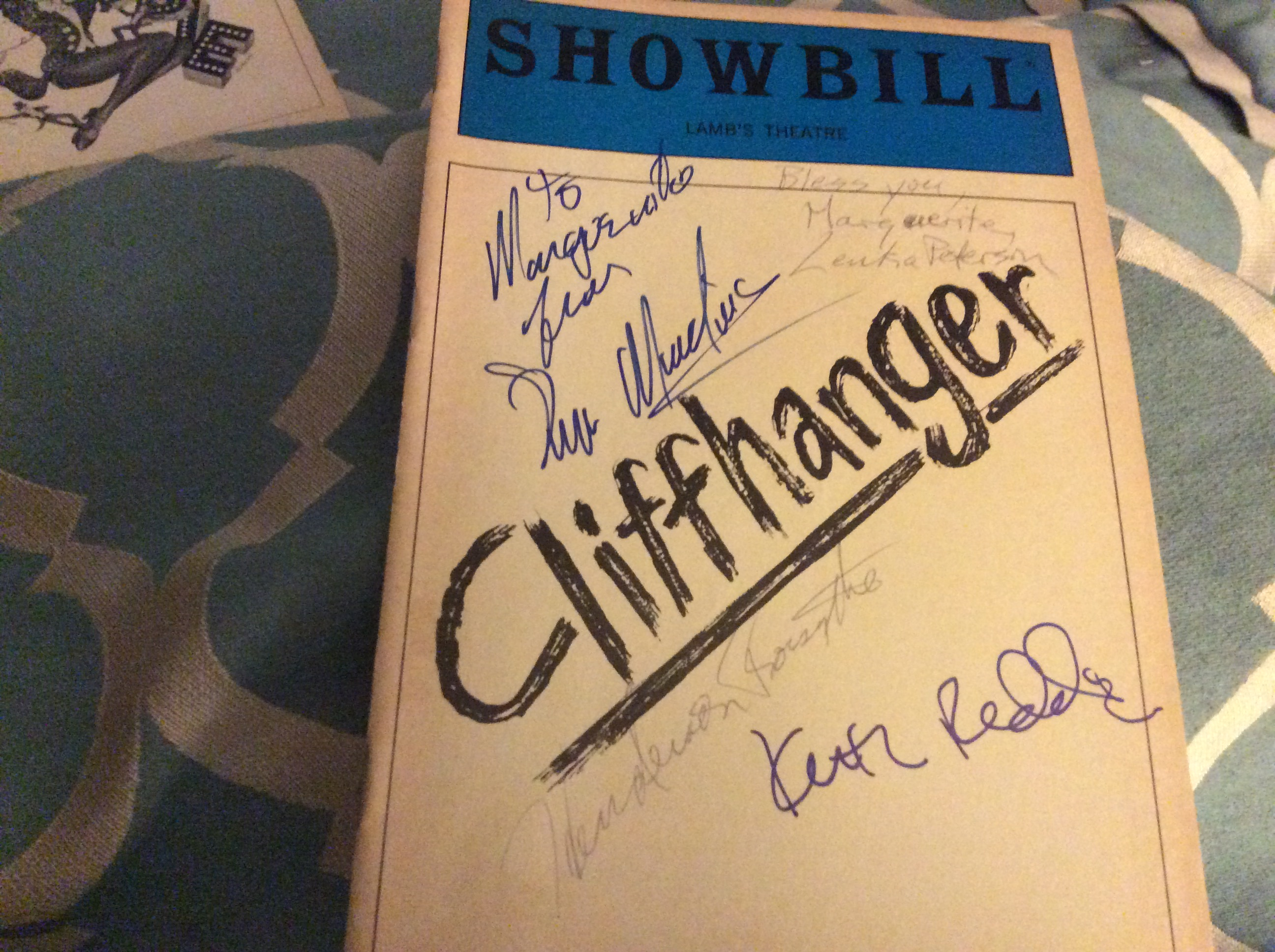 Cliffhanger signed Playbi