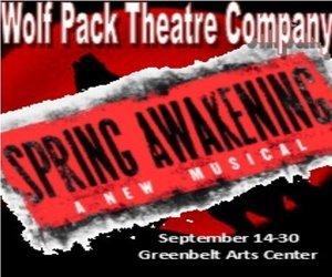 September 14-30, Greenbelt Arts Center 123 Centerway, Greenbelt MD 20770. Visit www.greenbeltartscenter.org for ticketing information! 1