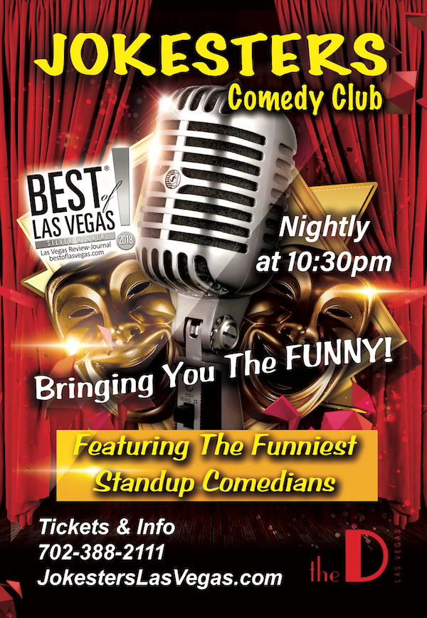 Jokesters Comedy Club Poster. 1