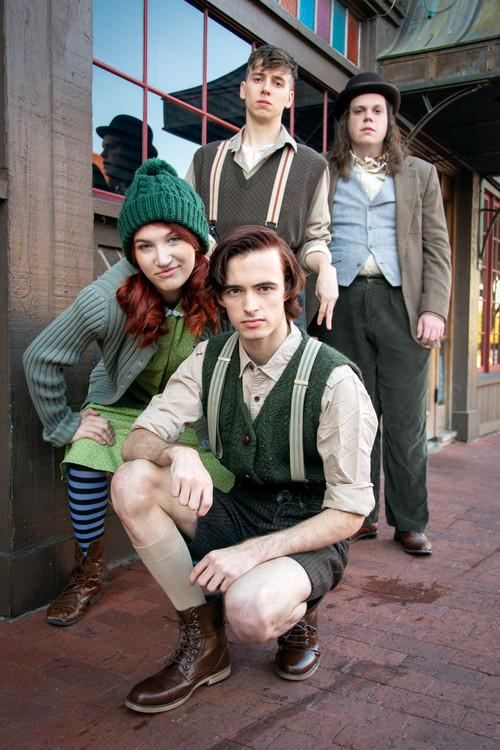 Calin Eastes, Ella Warner, Peyton Nicholson, and Harrison Polen. Photograph by Jason Johnson-Spinos. 2