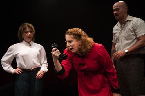 Production Photos from Moon Over Buffalo at Spotlighters Theatre PhotoCredit: Spotlighters Theatre / Shealyn Jae Photography 14