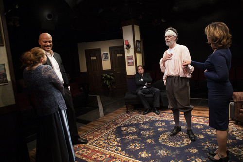 Production Photos from Moon Over Buffalo at Spotlighters Theatre PhotoCredit: Spotlighters Theatre / Shealyn Jae Photography 25