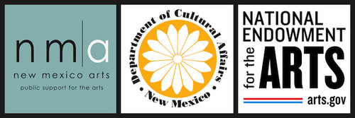This project is supported in part by New Mexico Arts, a division of the Department of Cultural Affairs, and by the National Endowment of the Arts. 1