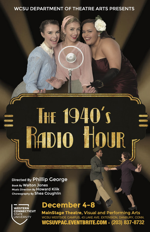 Poster for 1940'S Radio Hour 1