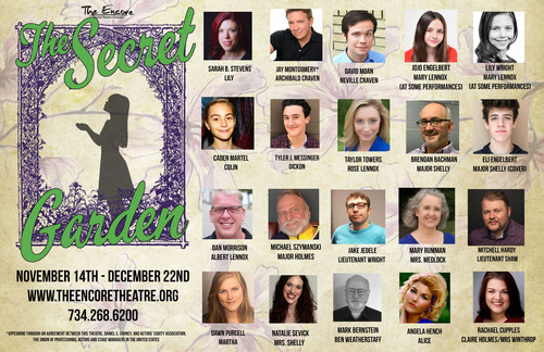 Cast List for The Secret Garden! 1