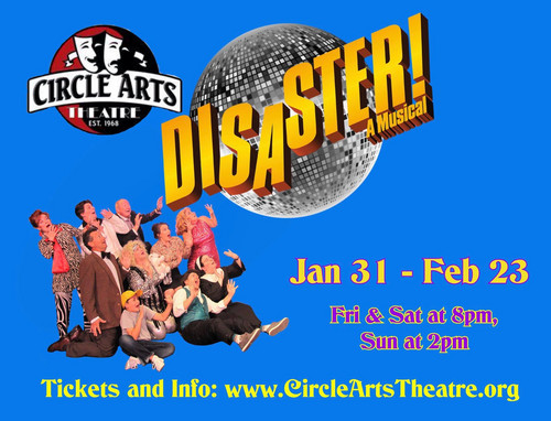 The incredible cast of Disaster! the Musical had audiences rolling with laughter on opening night! 1