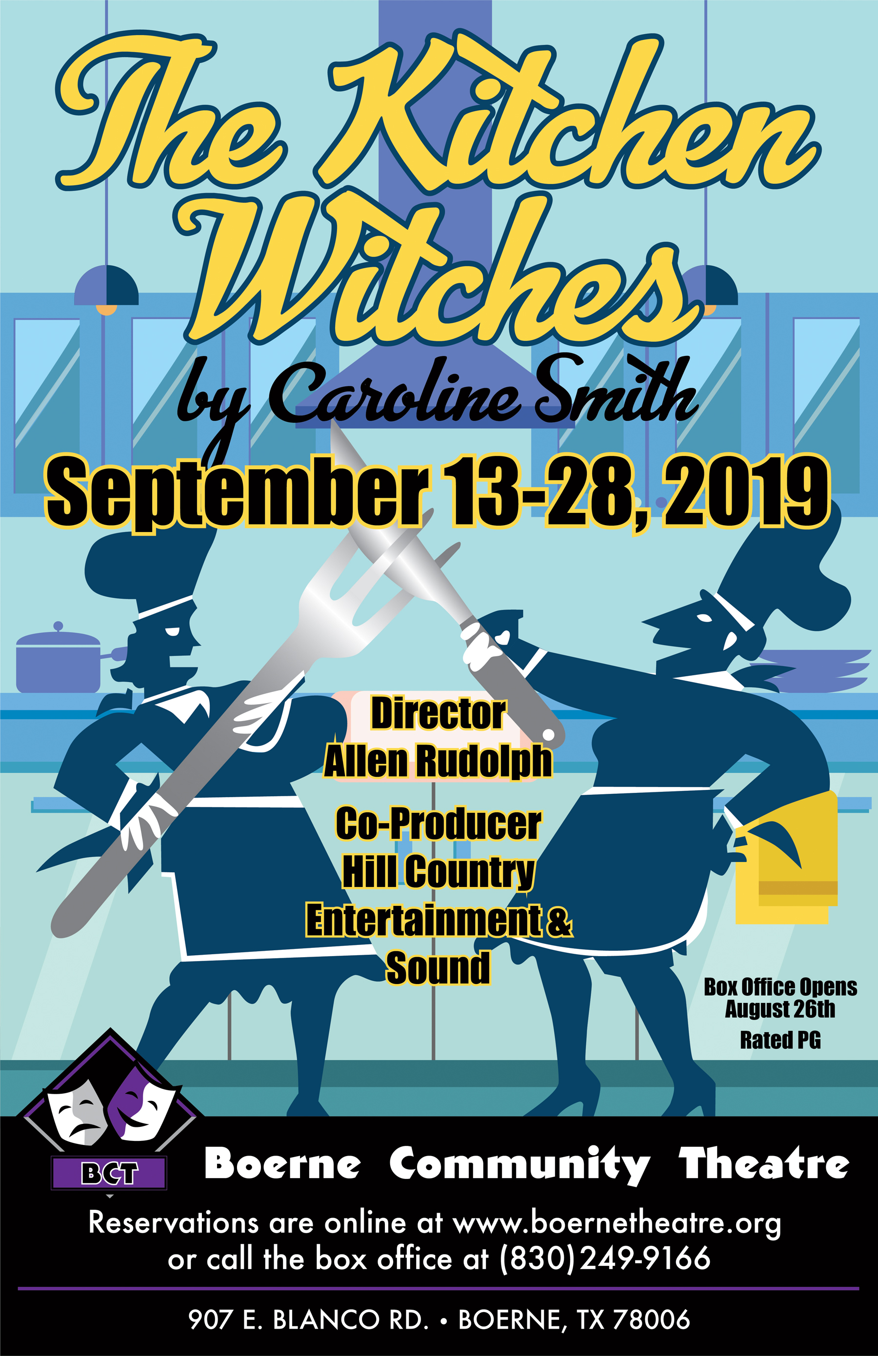 The Kitchen Witches in San Antonio at Boerne Community