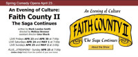 An Evening of Culture: Faith County II The Saga Continues in Delaware