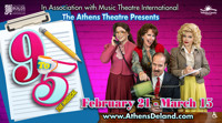 9 to 5 the Musical presented by the Athens Theatre Company in Orlando