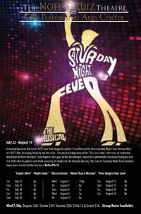 Saturday Night Fever the Musical at The Noel S. Ruiz Theatre in Long Island