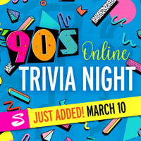 '90s Online Trivia Night in New Jersey