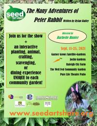 Peter Rabbit in Raleigh