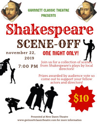 Shakespeare Scene-Off in Atlanta