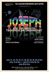 Axelrod Presents Joseph & the Technicolor Dreamcoat in Broadway