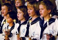 Christmas concert with the silver boys in Norway