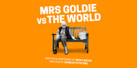 Mrs Goldie VS The World in UK / West End Logo
