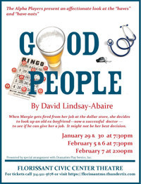 Good People by David Lindsay-Abaire in Kansas City