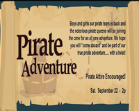 Pirate Adventure at The Onyx Theatre in Long Island