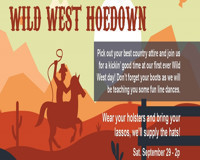 Wild West Hoedown at The Onyx Theatre in Long Island