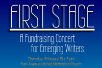 FIRST STAGE: A Fundraising Concert For Emerging Writers in Cabaret