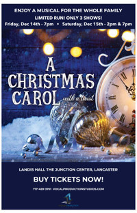 A Christmas Carol A New Musical in Broadway