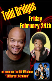 HA! Comedy presents: Todd Bridges from Diff'rent Strokes! in Rockland / Westchester