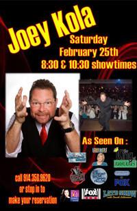 HA! Comedy presents: Joey Kola in Rockland / Westchester