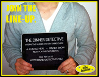 Dinner Detective Interactive Comedy Murder Mystery Dinner Show in Central Virginia