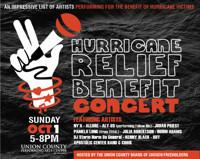 Hurricane Relief Benefit Concert in New Jersey