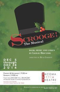 SCROOGE: THE MUSICAL in Seattle