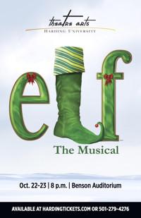 Elf the Musical in Arkansas