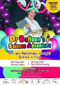 Dr.Balloon's Science Adventure in Malaysia