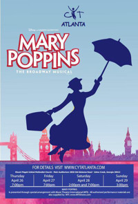 Mary Poppins, The Musical in Atlanta