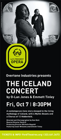 The ICELAND Concert - Fri. Oct. 7 - Ford Theatres in Los Angeles