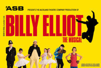 ASB presents the Auckland Theatre Company production of Billy Elliot the Musical in Broadway