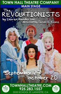 The Revolutionists in Broadway