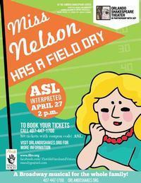 Miss Nelson Has A Field Day in Orlando