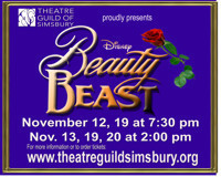 Theatre Guild of Simsbury presents Beauty and the Beast in Connecticut