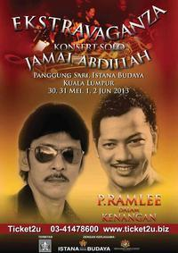 Ekstravaganza Konsert Solo Jamal Abdillah in Malaysia