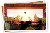 WAYANG KULIT (LEATHER PUPPET) SHOW in Indonesia