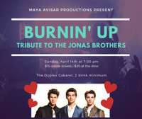 Burnin' Up: Tribute to the Jonas Brothers in Off-Off-Broadway