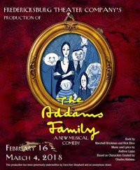 The Addams Family: A New Musical Comedy in Broadway