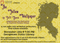 The Yellow Wallpaper - A Special One Night Only Workshop Production in Broadway
