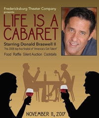 Life Is A Cabaret starring Donald Braswell II in San Antonio