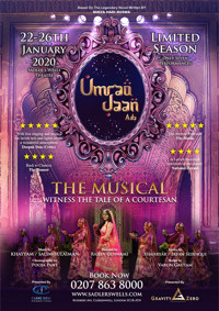 UMRAO JAAN ADA in UK / West End