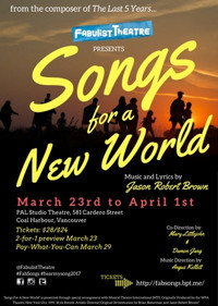 Songs For A New World by Jason Robert Brown in Vancouver