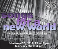 Songs For A New World in New Jersey