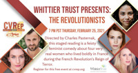 Whittier Trust Presents: The Revolutionists in Los Angeles