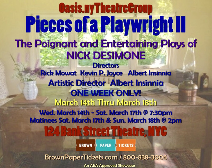 Pieces of a Playwright II